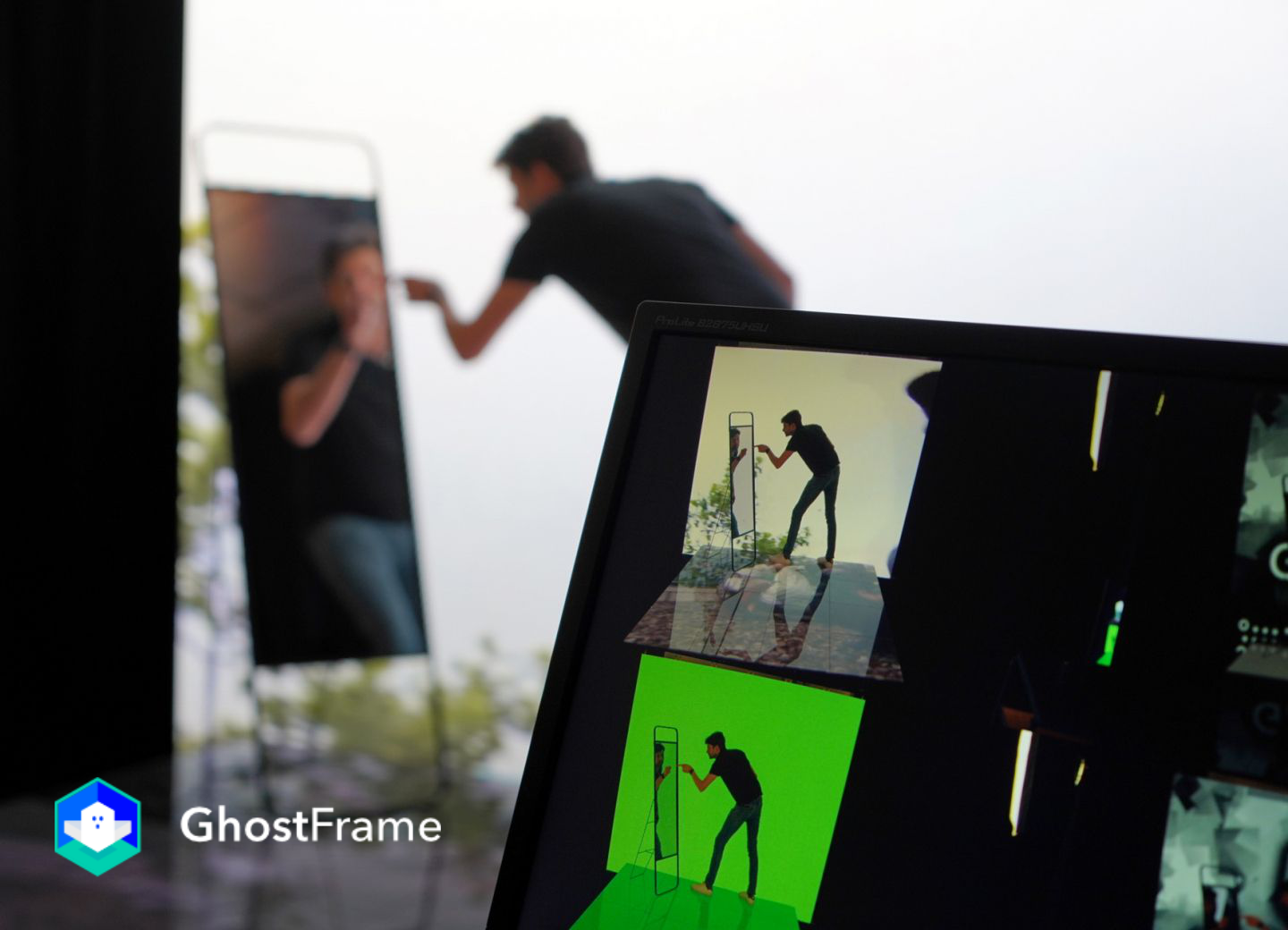 GhostFrame Green Screen, Hidden Tracking, and Multiple Sources